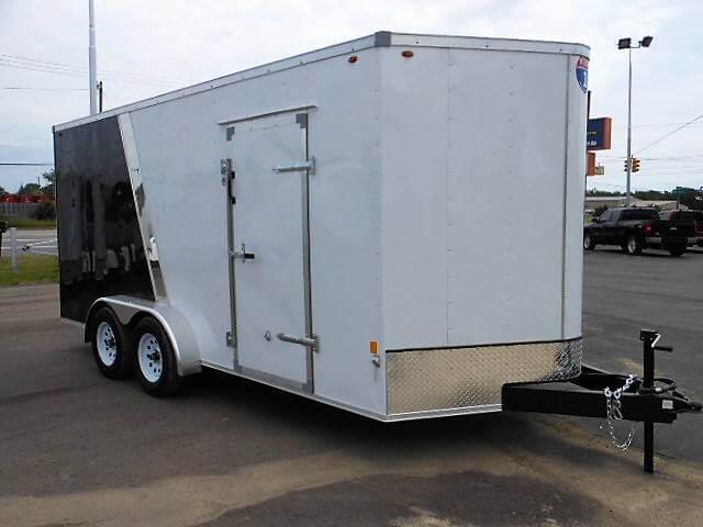 Interstate Sfc716ta2 7x16 Enclosed Trailer Denam Auto