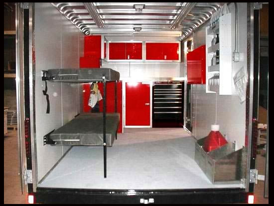 Cargo Trailer Accessories >> Enclosed Trailer Accessories Flint Michigan Denam Auto Trailer Sales
