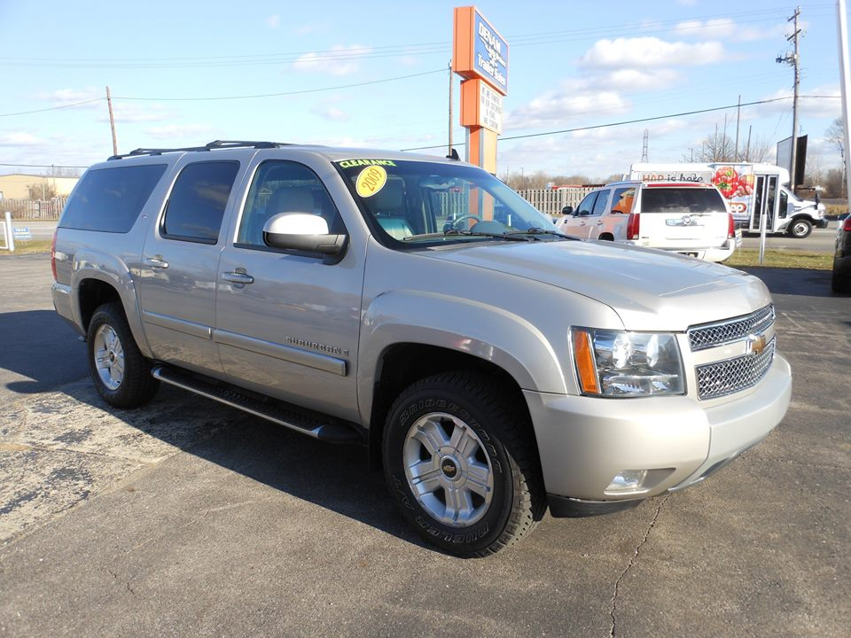 for sale 2009 z71 chevrolet suburban denam auto. Black Bedroom Furniture Sets. Home Design Ideas