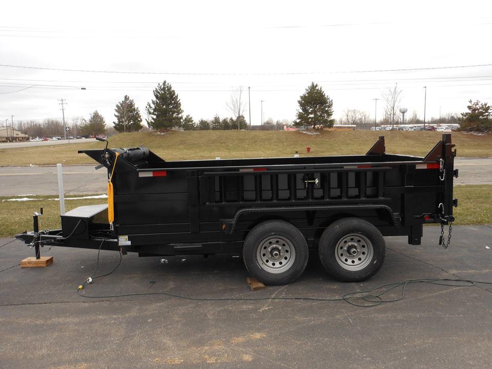 DTLP612TA3 6×12 Dump Trailer full