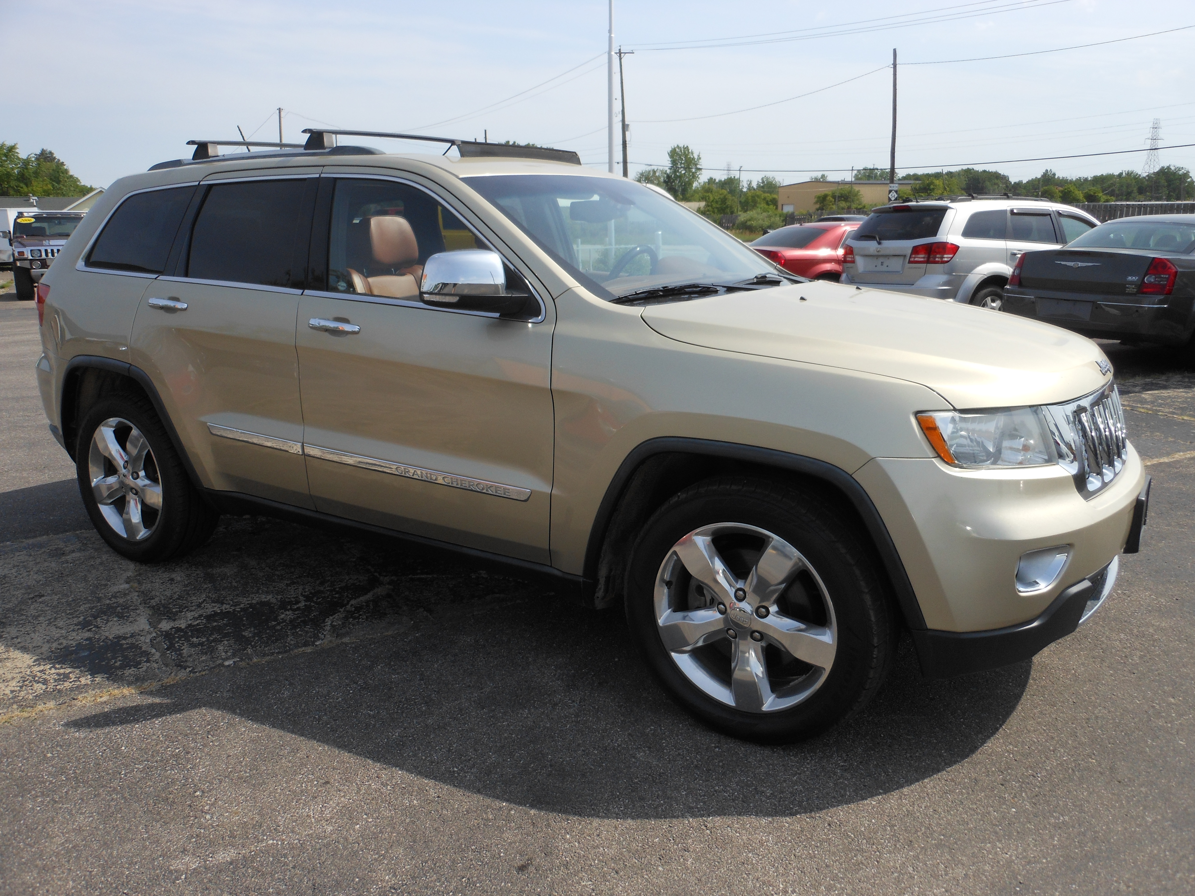 For Sale 2011 Jeep Grand Cherokee Overland Summit 4WD