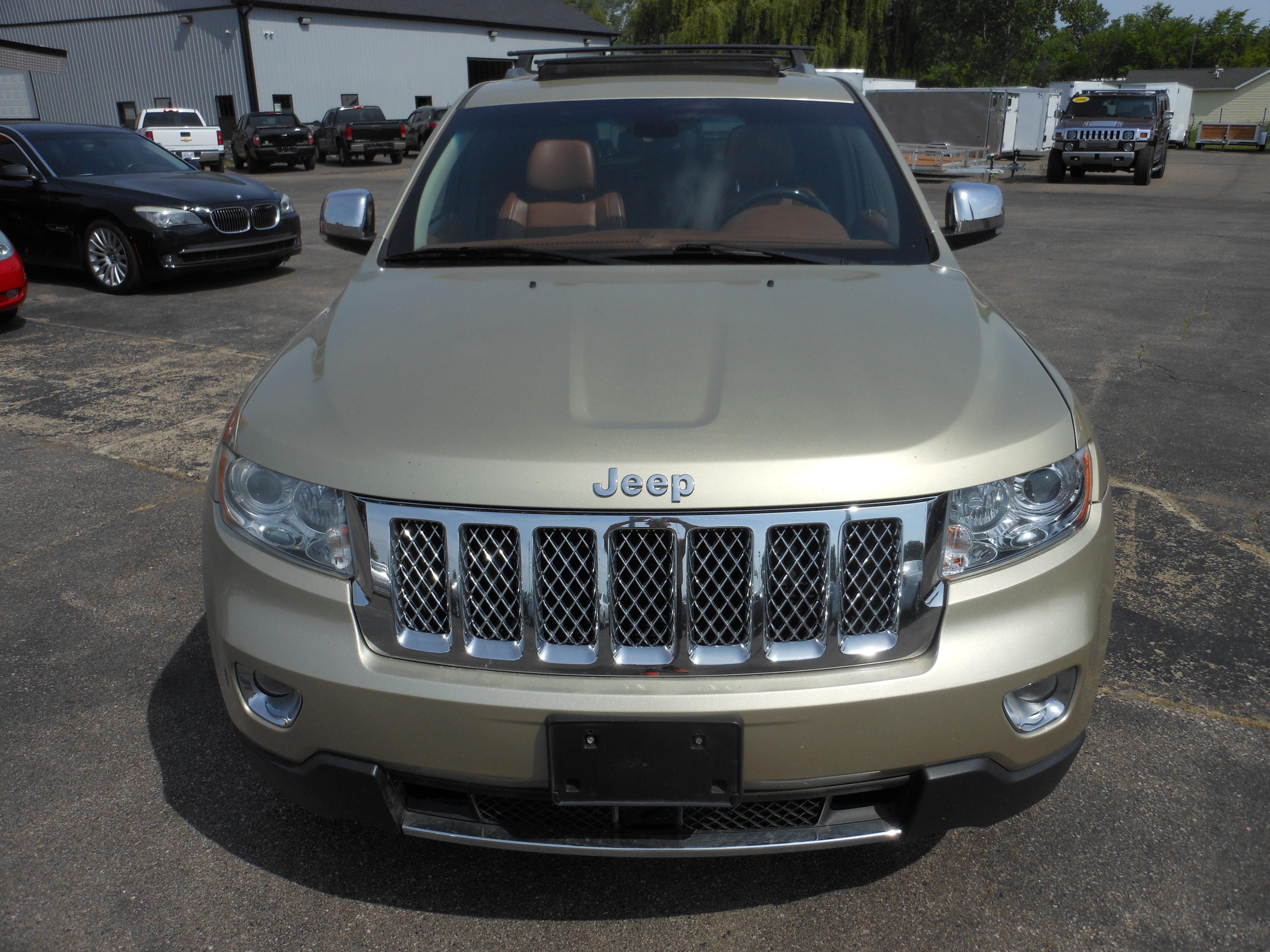 for sale 2011 jeep grand cherokee overland summit 4wd denam auto trailer sales michigan. Black Bedroom Furniture Sets. Home Design Ideas