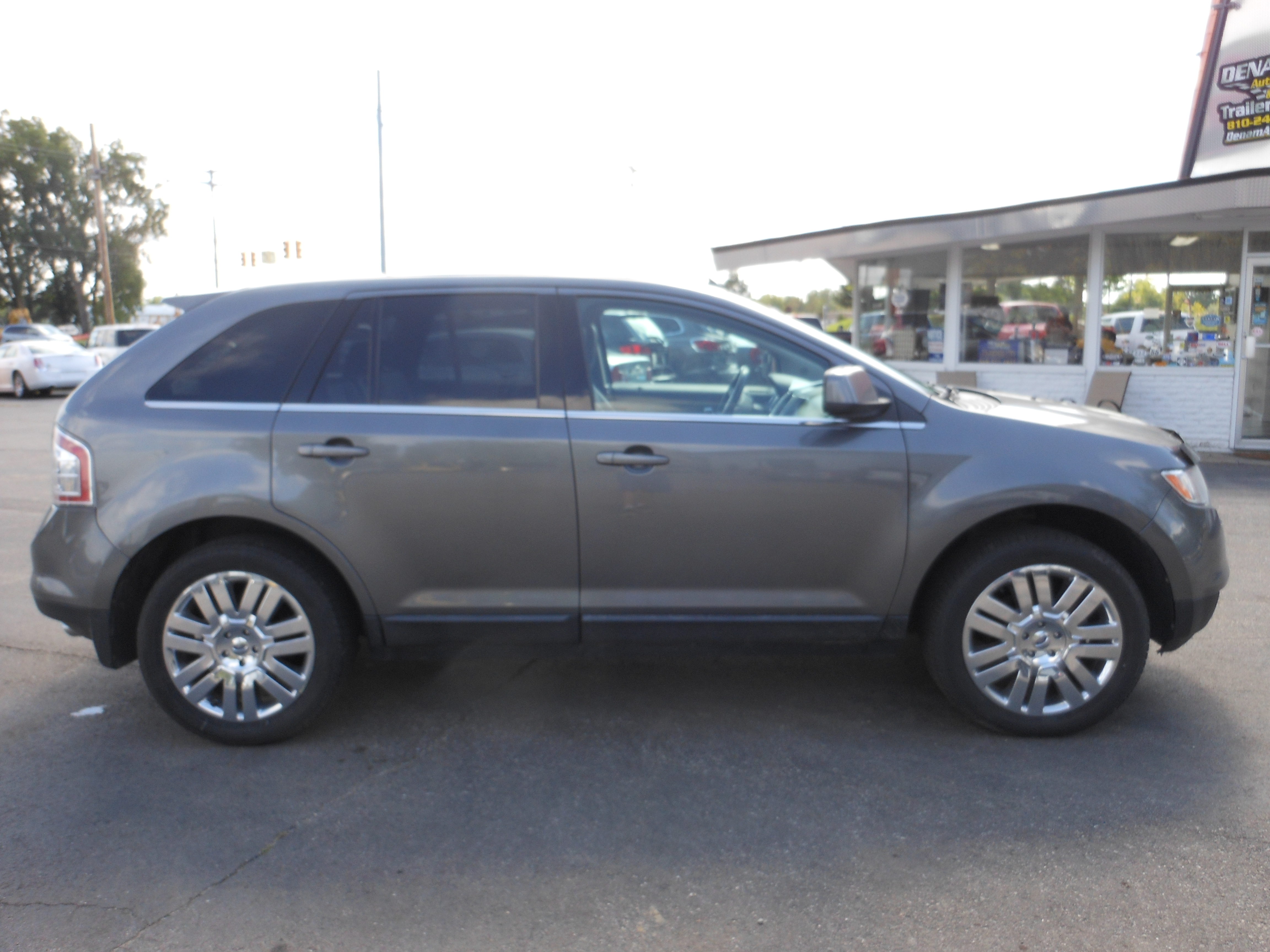 2010 ford edge limited 120k grey 4 denam auto trailer. Black Bedroom Furniture Sets. Home Design Ideas