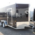 2020  7 X 14 Interstate-1 Enclosed Cargo Trailer Deluxe full