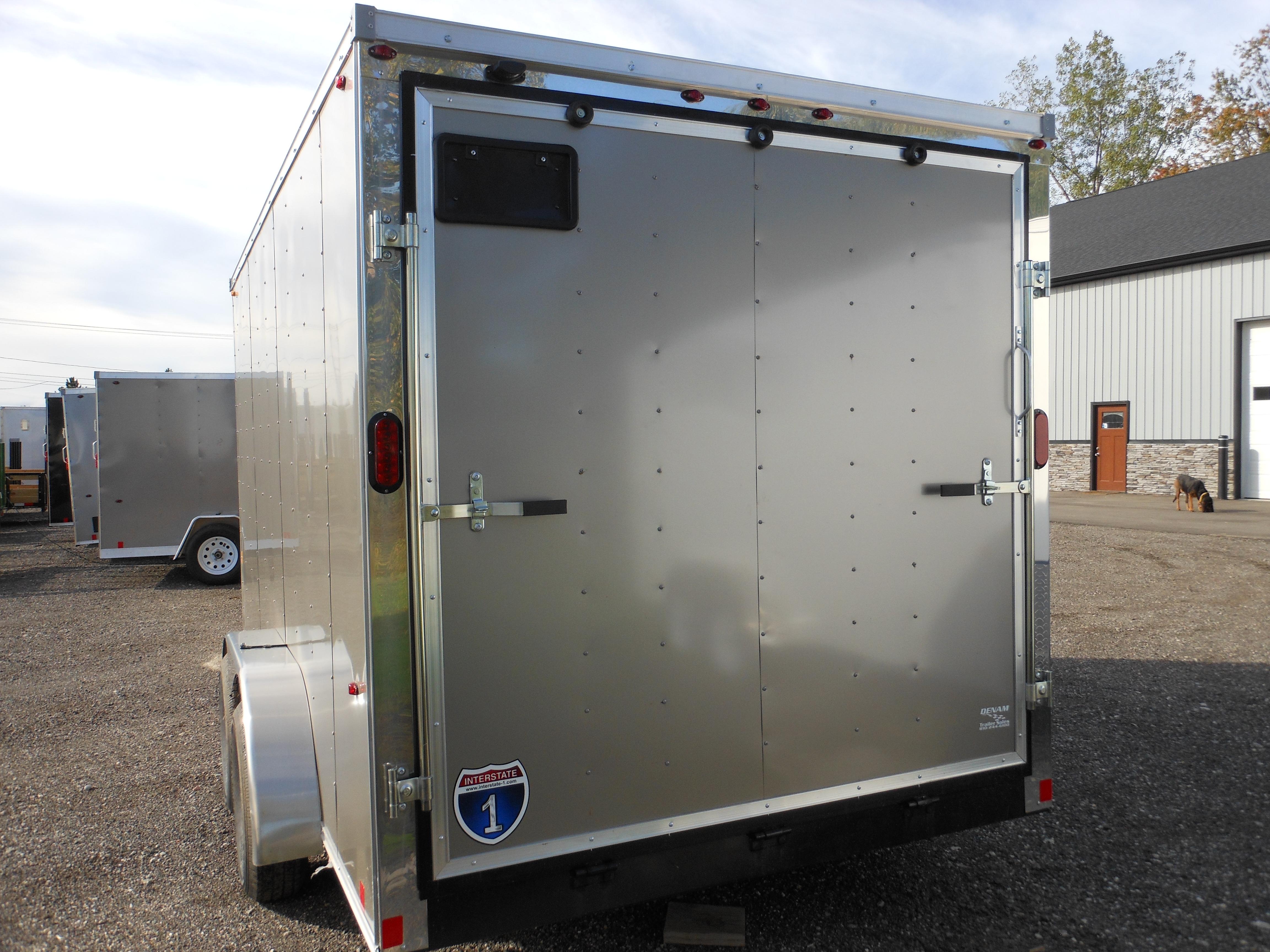 2020 7 X 14 Interstate-1 Enclosed Cargo Trailer, Base Model full