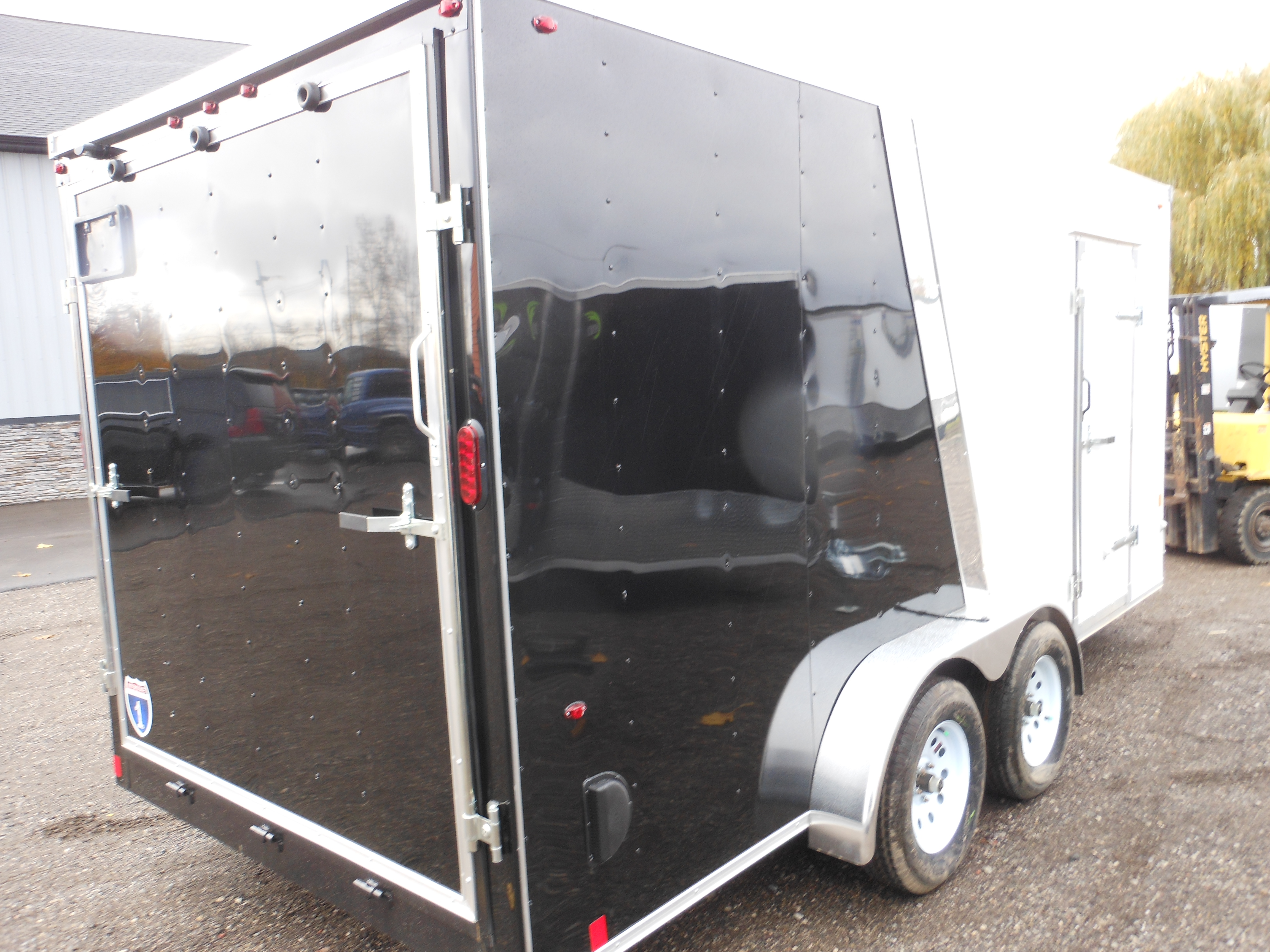 2019  7 X 16 Interstate-1 HD Enclosed Cargo Trailer full