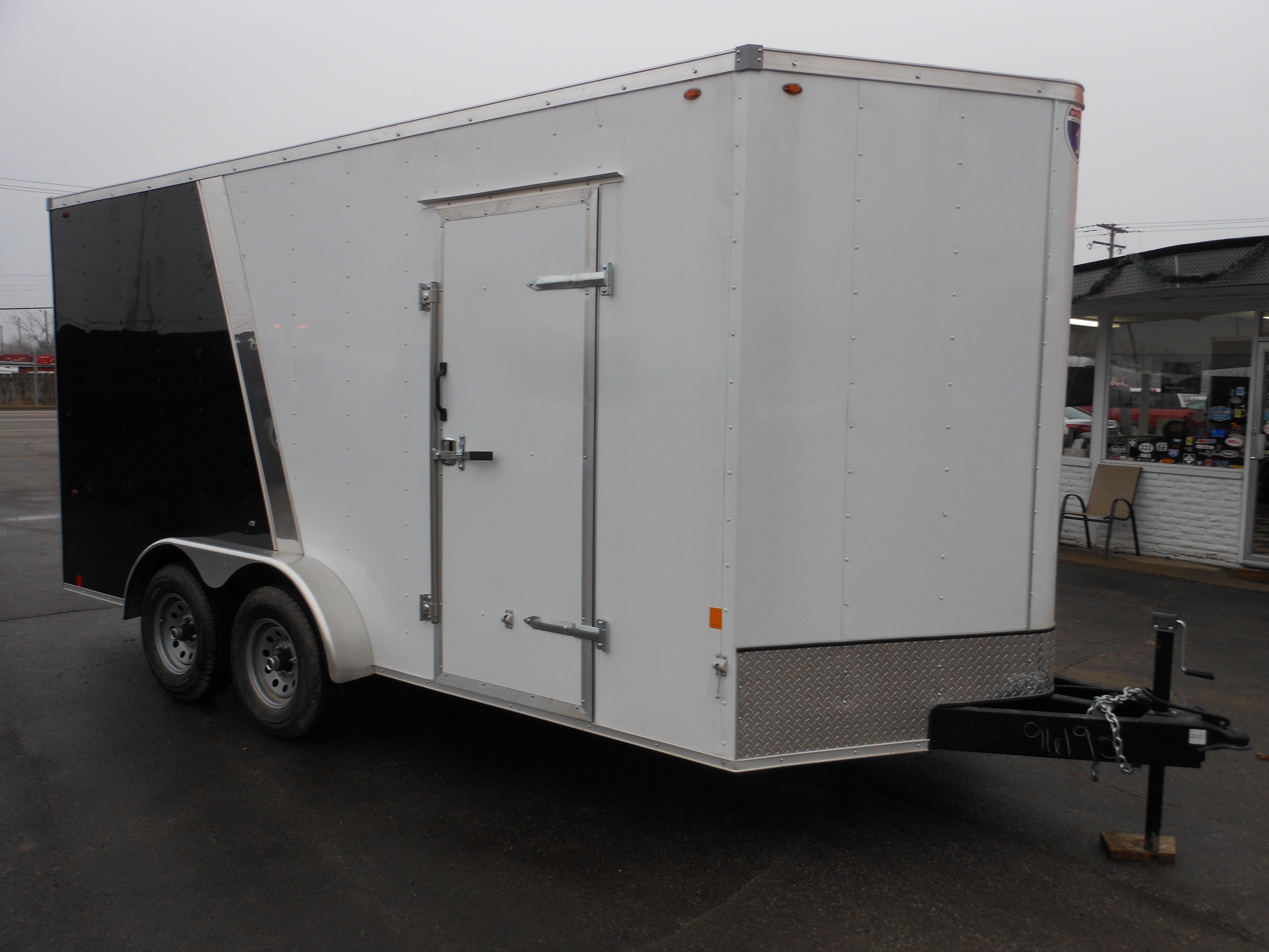 2020  7 X 16 Interstate-1 HD Enclosed Cargo Trailer full
